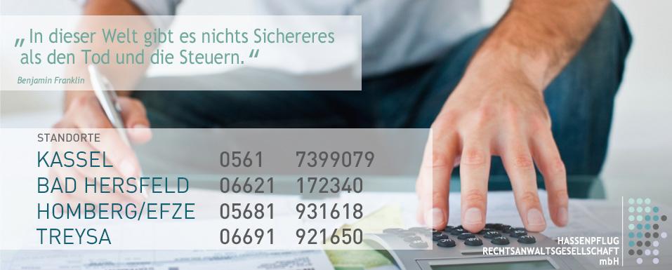 Steuerrecht, Lohnbuchhaltung und Finanzbuchhaltung