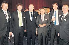 Thomas Keil, Alexander Hassenpflug, Bernd Rosan, Alwin Altrichter, Dr. Nico Ritz und Hans-Jochem Weickert